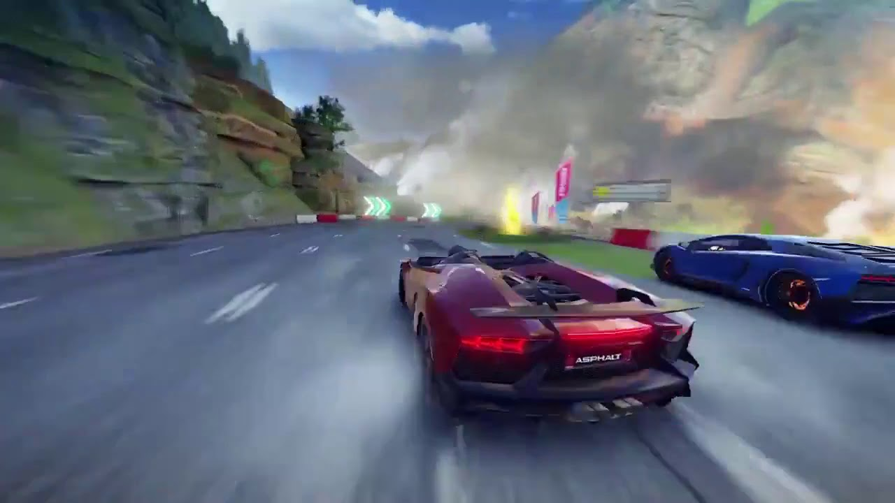 Asphalt 9 Leak With Aventador J On A New Track Care To Guess