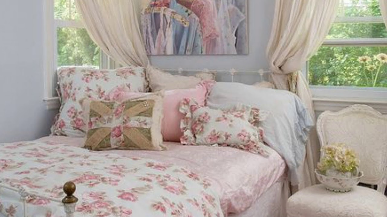 Best Sweet Shabby Chic Bedroom Decor Ideas On Budget