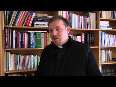 Priesteramtskandidat Markus Müller