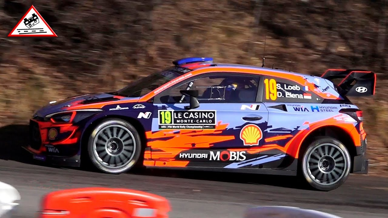 Shakedown Wrc Rallye Monte Carlo 2019 Passats De Canto