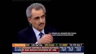 RECORDING OF: Charlie Rose with HRH Prince Alwaleed Bin Talal