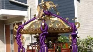 平成28年度 江戸川区北小岩 三谷八幡神社 例大祭  【 本社神輿宮出し】