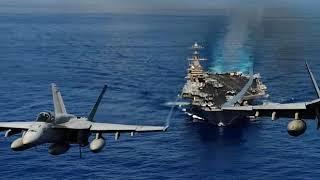 لن تصدق مالذي سيحدث اذا هاجمت ايران حاملة الطائرات الامريكية في مياه الخليج