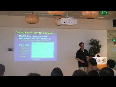 "SG-GTUG Meetup 6 - ""Introduction to Python"""