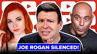 UHOH! Joe Rogan Silenced! Big Ad Ban, Bitcoin Crash, Biden's Weak Words on Israel & Question Dodging