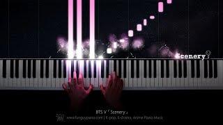 BTS V「Scenery」Piano Cover