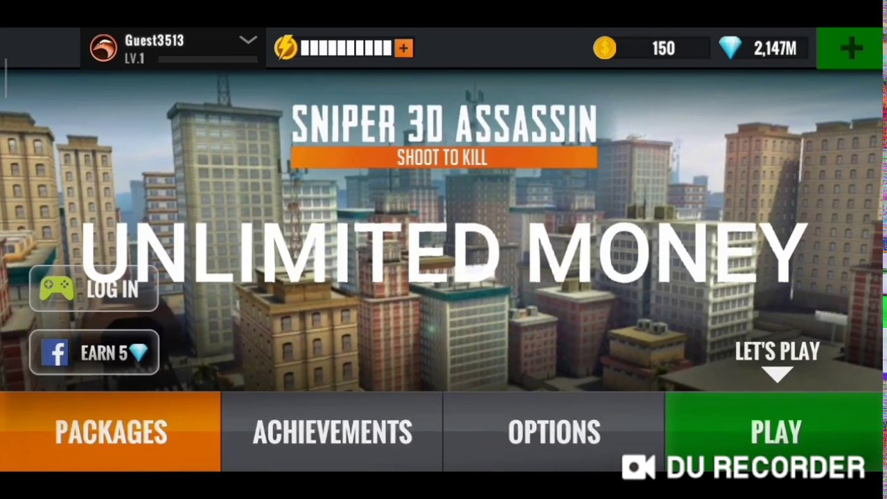 🥇 Download Sniper 3D assasin Mod apk : Unlimited Money