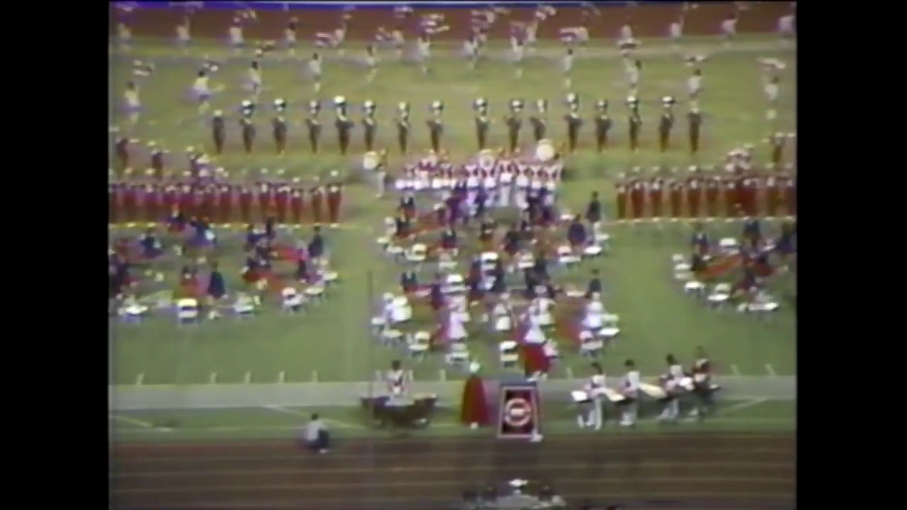Duncanville High School Band 1986 - UIL 5A State Marching Contest