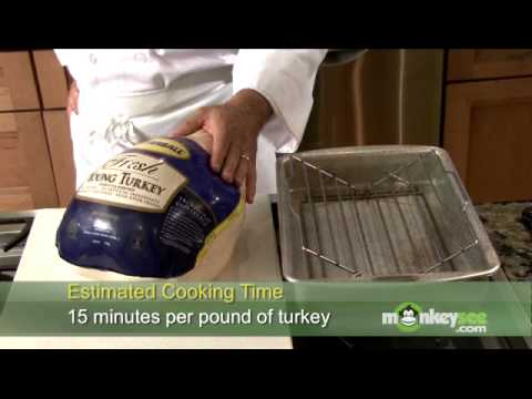 Roasting a Turkey - Amounts, Times & Temperature