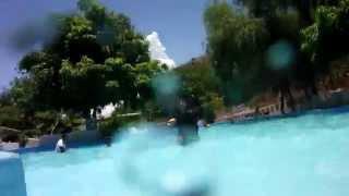 Tobogan del Balneario la Joya Mezquital Durango