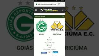 Goiás x Criciúma Análise e TIP Gratuita