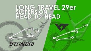 Specialized ENDURO vs YT CAPRA 29: Long-Travel 29er Suspension Design REVIEW