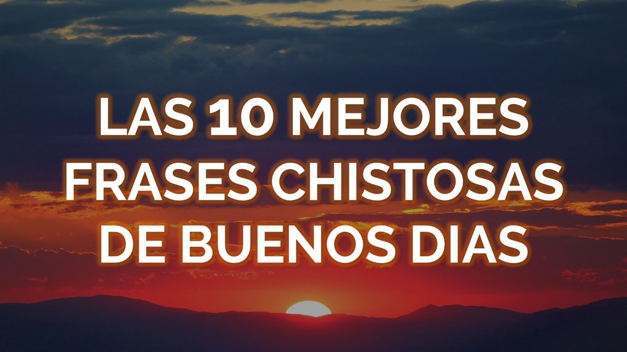 Las 10 Mejores Frases Chistosas De Buenos Días