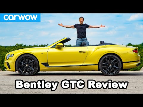 Bentley Continental GT Convertible review – see how quick it can go TOPLESS!