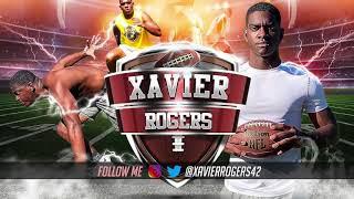 Xavier Rogers Greatest Hits - 2021 Rocky River Football Sr. Highlights (Charlotte, NC)