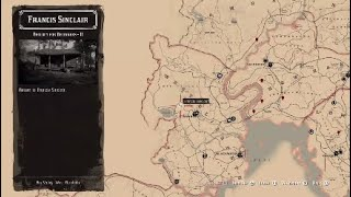 Red Dead Redemption 2: Old Brass Compass Location