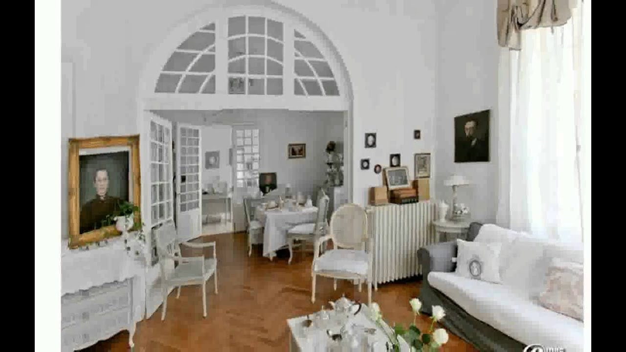 Decoration maison de campagne youtube for Escalier interieur maison