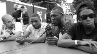 Krept & Konan and Stormzy talk to Peter Rosenberg at New Look Wireless 2015