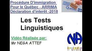 Les Tests Linguistiques
