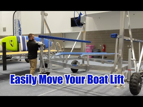 How To Easily Move Your Boat Lift