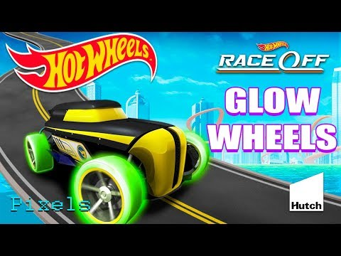 Hot Wheels Race Off Daily Challenge Rip Rod GLOW WHEELS