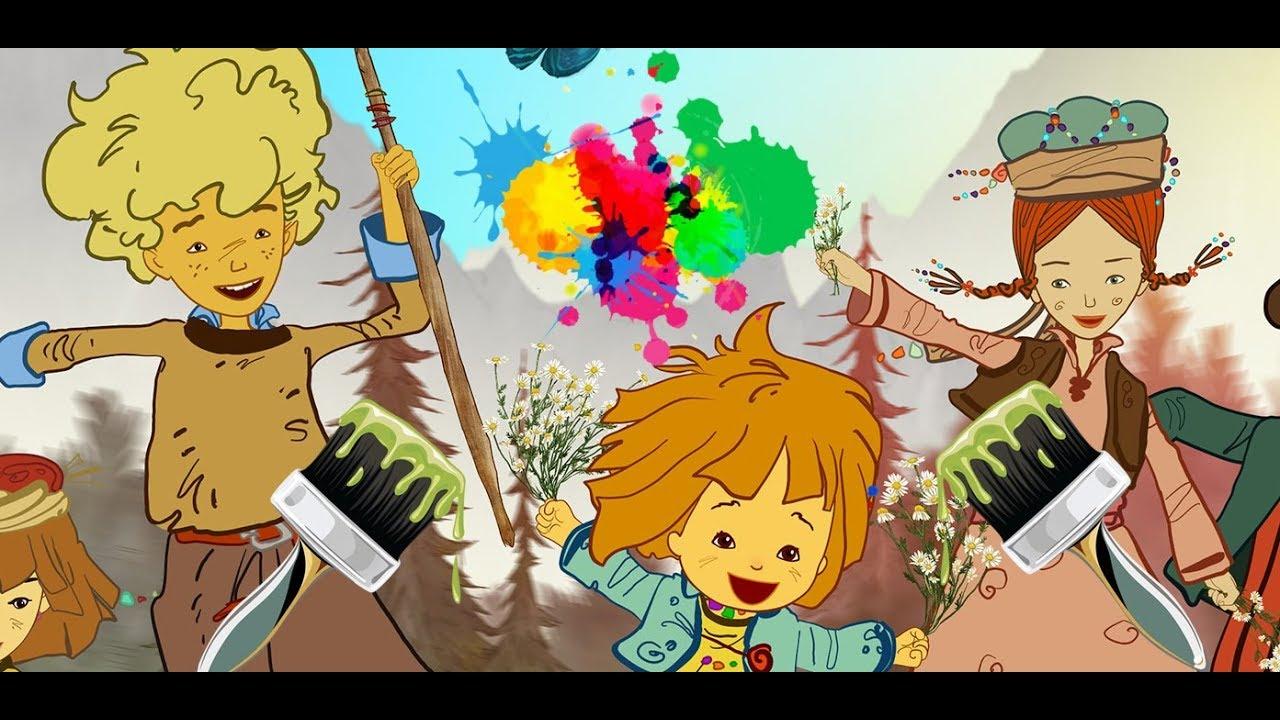 Maysa Ve Bulut Izle Cizgi Film Karakterleriyle Renkleri