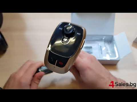 BL106 Bluetooth FM трансмитер за кола HF15 12