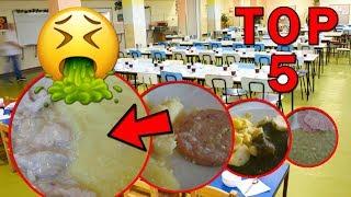 Top 5 nejhorších jídel ze školních jídelen