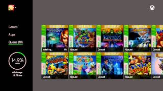 Installing Rare Replay Microsoft Xbox one 30 Great GAMES! Classic Battletoads Perfect Dark