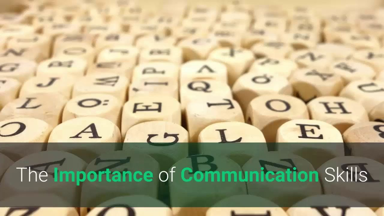 the importance of communication skills