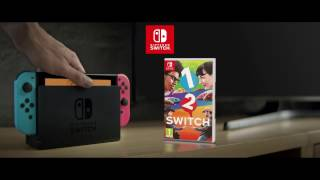 1-2-Switch - Play anytime, anywhere, with anyone - European version | FelipeWiiUTrailers