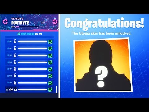 What Happens When You Collect ALL Fortbytes in Fortnite! FULL Fortbyte Puzzle Picture REVEALED!