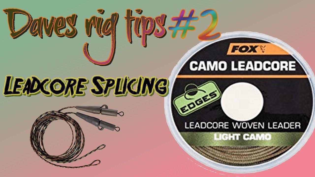 Fox Edges Camo Leadcore Leader Carp Fishing