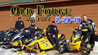 Old Forge Ride: Feb 28th, 2019 | Day 1 of 2
