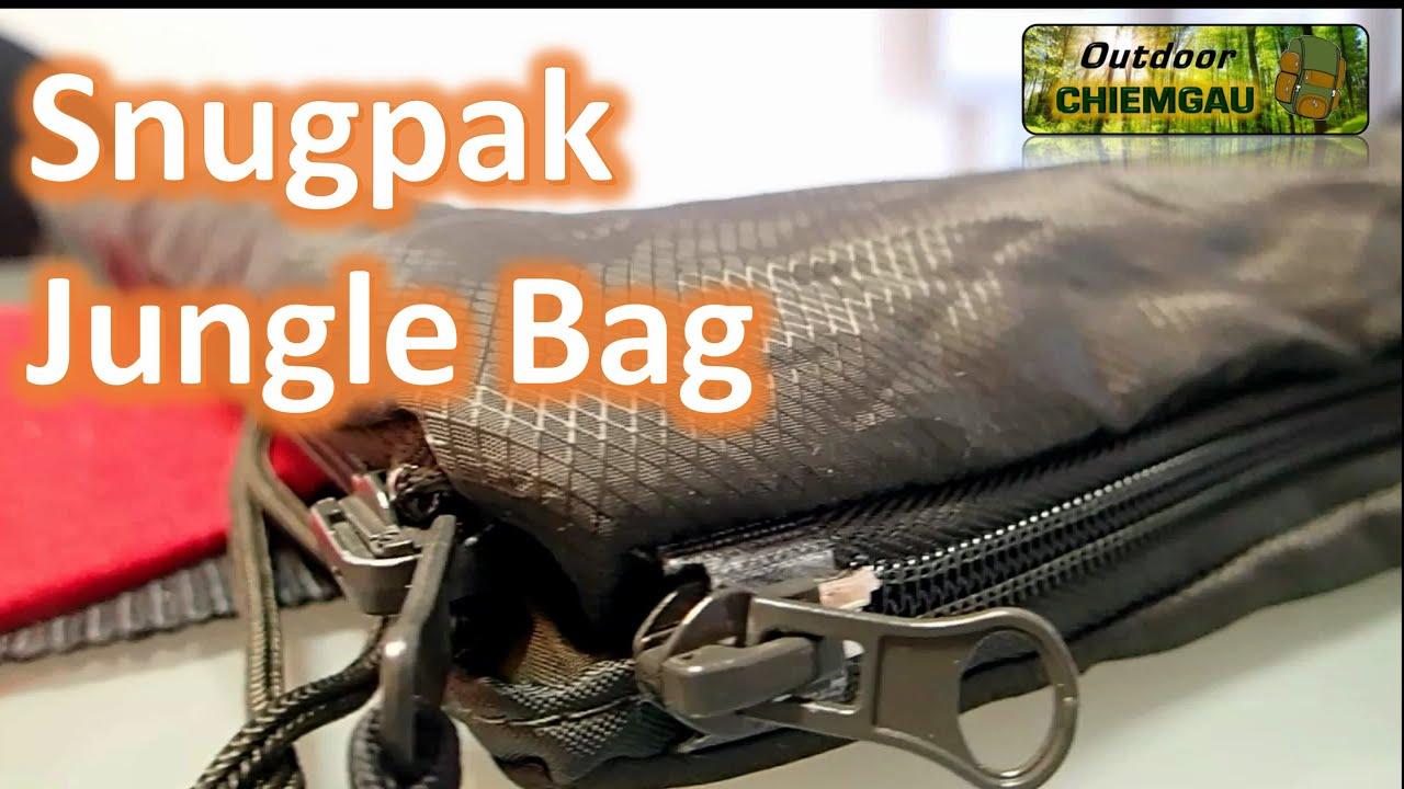 beste Schuhe San Francisco schönes Design Snugpak Jungle Bag Schlafsack - Der beste Sommerschlafsack? Vergleich mit  Carinthia Tropen.Erfahrung