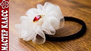 Цветок из Ленты за 5 минут своими руками ✄ Kulikova Anastasia(В этом видео уроке я покажу как сделать простую и красивую резинку для волос. Цветочек, который будет украша..., 2015-07-07T11:30:01.000Z)