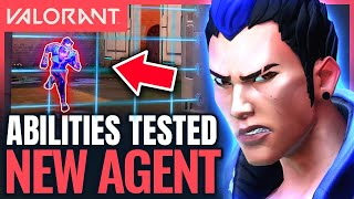 VALORANT | New YORU Gameplay - All Ability Interactions (New Agent Episode 2)