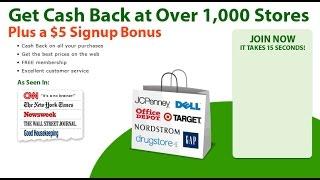 eBates Cash Back It Really Works
