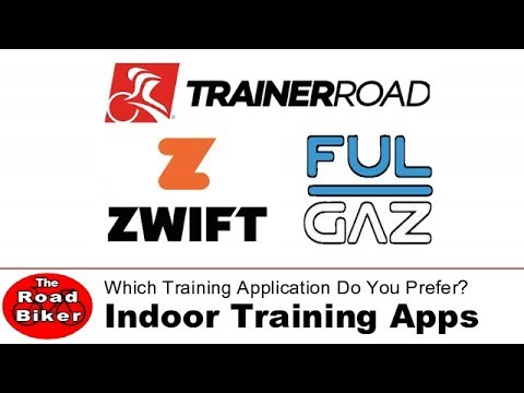 Indoor Cycling Trainer Applications | Which One Do You Think Is Best? | GoPro Cycling Video