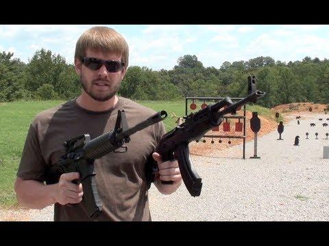 AK47 VS. AR15 - SPEED SHOOT - YouTube
