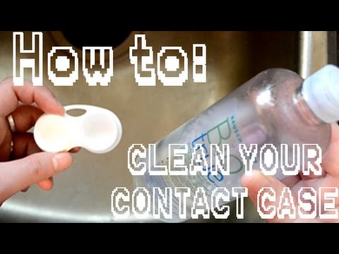 HOW TO: CLEAN YOUR CONTACT CASE [Score Zero Cosplay]
