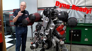 SUPER-TURBO DURAMAX DYNO READY: Building A Monster Truck Engine Pt 11
