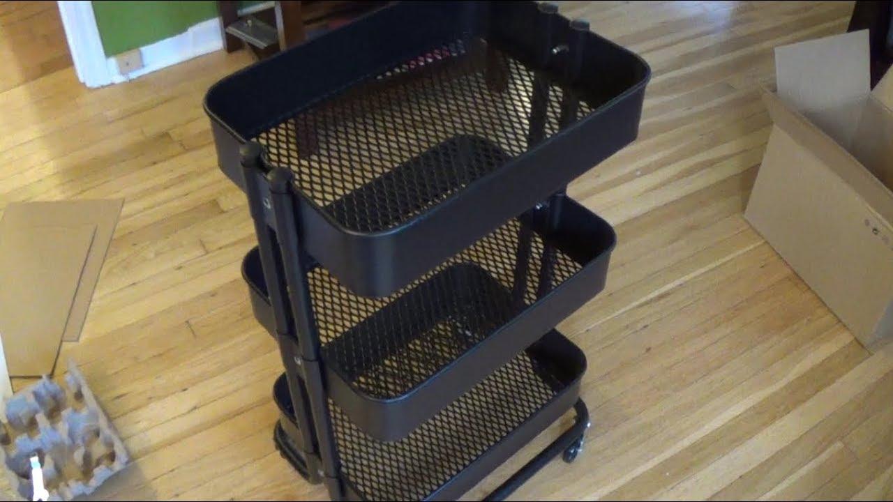 08d0ea21c13 How to assemble an IKEA RASKOG Utility Cart - YouTube