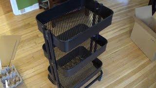 How to assemble an IKEA RASKOG Utility Cart