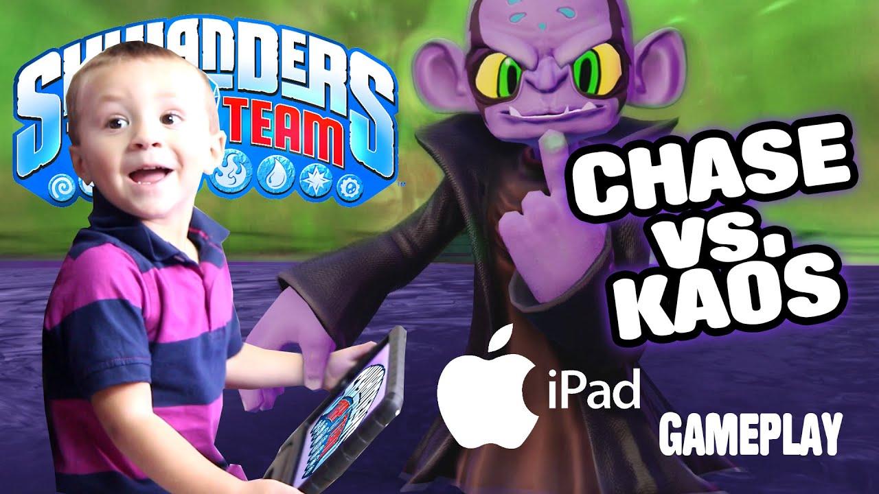 Chase vs. Kaos - SKYLANDERS TRAP TEAM TABLET GAMEPLAY (3 ...