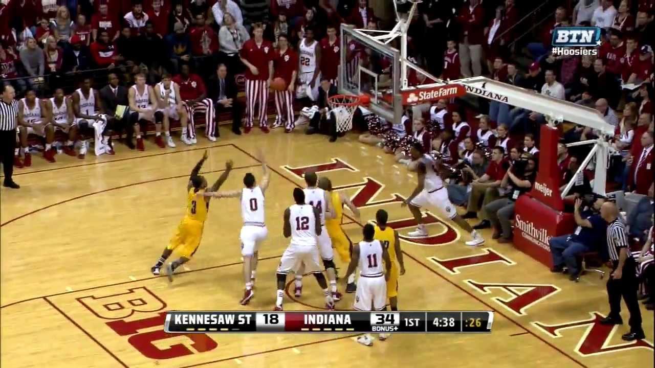 2013 Big Ten Men's Basketball Kennesaw State at Indiana ...