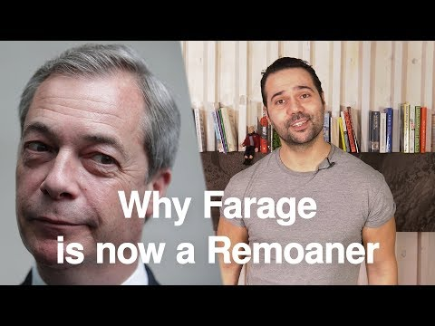 Why Farage Really Wants a Second Referendum