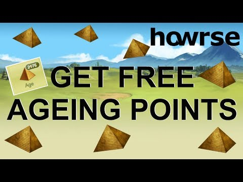 GET FREE AGEING POINTS ON HOWRSE - Howrse Trips (2018)