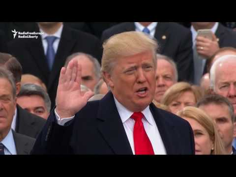 Trump Sworn In As 45th U.S. President