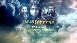 The Musketeers [Season 3 official promo]